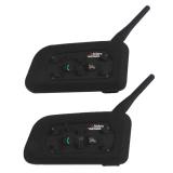 Spesifikasi Vnetphone Sepeda Bermotor Kemudi Interkom V6 1200M Interfon Bluetooth Yang Bagus Dan Murah