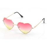 Jual Vococal Vintage Kacamata Hitam Berbentuk Hati Berwarna Merah Muda Kuning Vococal Branded