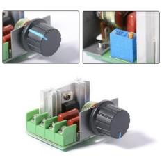 Voltage Regulator 2000W SCR Motor Speed Control Lamp Dimmer Thermostat AC 220V