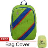 Voyager Tas Ransel Laptop Kasual 7815 Backpack Up To 15 Inch Bonus Bag Cover Hijau Murah