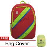 Toko Voyager Tas Ransel Laptop Kasual 7815 Backpack Up To 15 Inch Bonus Bag Cover Merah Online