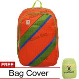 Spesifikasi Voyager Tas Ransel Laptop Kasual 7815 Backpack Up To 15 Inch Bonus Bag Cover Oranye