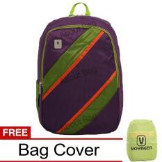Spesifikasi Voyager Tas Ransel Laptop Kasual 7815 Backpack Up To 15 Inch Bonus Bag Cover Ungu Voyager