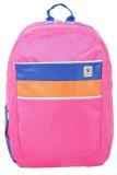 Spek Voyager Tas Ransel Laptop Kasual Tas Pria Tas Wanita 7816 Backpack Up To 15 Inch Bonus Bag Cover Pink