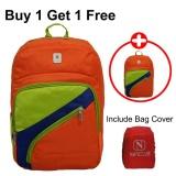 Beli Voyager Tas Ransel Laptop Kasual Tas Pria Tas Wanita 7820 Backpack Bonus Bag Cover Orange Buy 1 Get 1 Free Cicil
