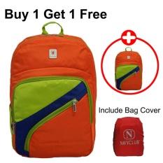 Diskon Voyager Tas Ransel Laptop Kasual Tas Pria Tas Wanita 7820 Backpack Bonus Bag Cover Orange Buy 1 Get 1 Free Akhir Tahun