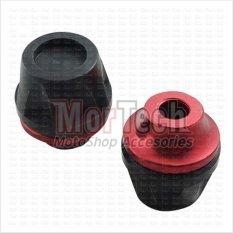VRC New Cover - Tutup - Jalu - Bandul as roda depan Shogun SP Merah