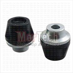 VRC New Cover - Tutup - Jalu - Bandul as roda depan Shogun SP Silver