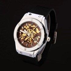 Harga Watch Jam Tangan Es Pria Merek Mewah Olahraga Kerangka Militer Jam Tangan Jam Tangan Es Otomatis Wind Mechanical Watch Jam Tangan Tali Karet Origin