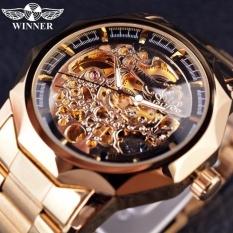 Jual Beli Jam Tangan Pria Top Brand Luxury Otomatis Jam Mekanikal Skeleton Wrist Watches Relogio Masculino Pria Jam Tangan Intl
