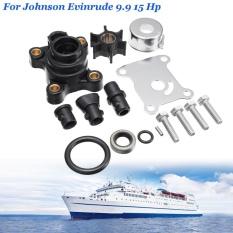 Water Pump Impeller Repair Kit for Johnson Evinrude 9.9 15 Hp Outboard - intl