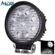 Tahan Terhadap Udara 27W-Spot-Round Diecast Aluminium LED Spotlight 30 Derajat Lampu Kerja-Internasional