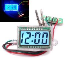 Spesifikasi Tahan Air Digital Jam Otomatis Lcd Dashboard Dc 12 V Untuk Motor Motor Intl Yang Bagus