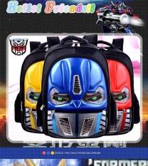 Spesifikasi Tahan Air Tk Tas Ransel Boys Kids Untuk Transformers Merah Intl Dan Harganya