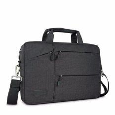 Tahan Air Tas Laptop Case Untuk Macbook Pro 13 Air 13 Retina Pocket Sleeve Bag 14 Shockproof Nilon Laptop Lengan 13 3 15 14 Inch Intl Original