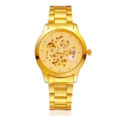 Dimana Beli Mekanik Tahan Air Automatic Gold Watch Intl Unbranded