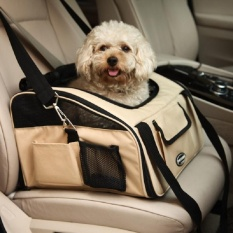 Waterproof PET Carrier Car Seat Pad Aman Dibawa Rumah Kucing Anjing Aksesoris Perjalanan-Intl