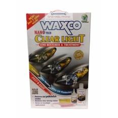 Jual Waxco Nano Tech Lens Restorer Treatment Pembersih Penjernih Kaca Lampu Mika Lampu Depan Kaca Jendela Mobil Murah Dki Jakarta