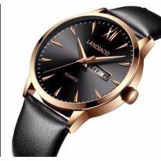 WD Watch Slim Baru Kasual Belt Watches Pria Jam Tangan Waterproofquartz Fashion Real Sabuk Kulit Mens Watch Tahan Air-Intl