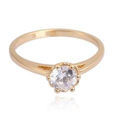 Cincin Kawin Perhiasan 18 Karat Gold Fil