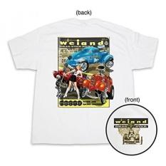 Weiand 10008-SMWND Putih Kecil Drag Star Kaos-International