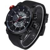 Jual Obn Men Quartz Militer Watch Analog Digital 3Atm Tahan Air Karet Strap Pria Olahraga Watches Wh3401 Hitam Perak Intl Branded