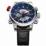 Katalog Obn Men Sport Watch Leather Strap Hitam Wd3401 Terbaru