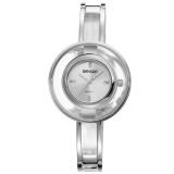 Jual Weiqin Casual Women Stainless Steel Strap Watch Water Resistant 10M W4823 Jam Tangan Wanita Silver Weiqin Online
