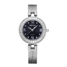 Beli Weiqin Crystal Rhinestone Mewah Brand Fashion Rose Gold Watch Intl Online Terpercaya