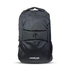 Westpak Bag - Tas Punggung Ransel Laptop Raincover Hitam
