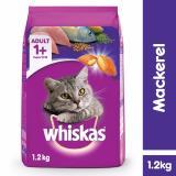 Beli Whiskas *d*lt 1 2Kg Mackerel Makanan Kucing Cat Food Yang Bagus