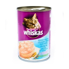 Review Wet Cat Food Whiskas Can *d*lt Ocean Fish 4 Pcs 4 X 400 G Di Indonesia