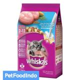 Toko Whiskas Junior Ocean Fish Milky Dry 1 1 Kg Online Di Indonesia