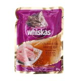 Beli Whiskas Pouch Chicken Tuna Wet Food 12 Pcs 12 X 85 G Cicilan