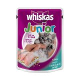 Jual Beli Online Whiskas Pouch Junior Kitten Tuna 12 Pcs 12 X 85 G
