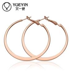 Grosir 18 K Emas Plated Earrings untuk Women Keterlibatan Pernikahan Pesta Bridal Perhiasan untuk Pacar Harga Pabrik Auskarai-Intl