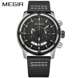 Harga Grosir Megir Ml2047G Sport Men Quartz Watch Multifungsi Chronograph Fashion Wrist Watches Clock Intl Megir Tiongkok