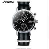 Beli Grosir Sinobi Sw03 Fashion Militer Chronograph Mens Watches Nato Strap Nilon Watchband Top Luxury Brand Quartz Clock007 Intl Cicilan
