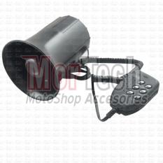 Wilwood Klakson - Kelakson  Mic 6 Suara Motor X Ride Hitam