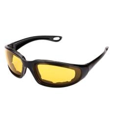 Tahan Angin Kacamata Hitam Lensa Olahraga Ekstrim Motor Motor Riding Glasses-Intl