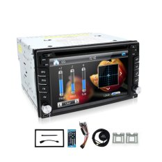 Windows HD Layar Sentuh Dash Double 2 DIN GPS Mobil Stereo DVD GPS Player Bluetooth TV Radio Panggilan Video Musik Audio Kepala Unit (Intl)