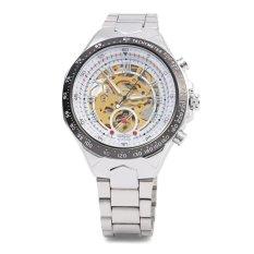 Spesifikasi Pemenang F110610 Automatic Mechanical Wrist Watch Untuk Pria Tali Baja Bagus