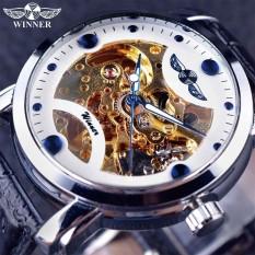Pemenang GMT880-1 Kerangka Hitam Designer Biru Engraving Jam Pria Kulit Tali Pria Jam Tangan Terbaik Merek Mewah Otomatis Jam Tangan Montre Homme -Internasional