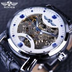 Pemenang GMT880-2 Putih Biru Tombol Penyetel Jam Tangan Pria Merek Mewah Otomatis Mekanis Kerangka Perancang Jam Tangan Jam Tangan Pria Jam Tangan Jam Pria- internasional