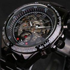 Pemenang Jam Mewah Pria Jam Tangan Otomatis Skeleton Militer Watch Mekanis Relogio Pria Montre Homme Watch Mens Relojes-Intl
