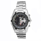 Situs Review Pemenang Mens Automatic Mechanical Tanggal Stainless Steel Analog Olahraga Watch Hitam