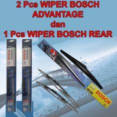 Toko Wiper Bosch Advantage Kia Carens 3Pcs Kn Kr Dan Blkg Original Dekat Sini