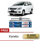 Wiper Frameless Bosch Terbaik Untuk Mobil Kijang Innova New Clear Advantage 20 16 2 Buah Set Sepasang Free Kanebo Bosch Terbaru