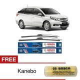 Toko Wiper Frameless Bosch Terbaik Untuk Mobil Mobilio New Clear Advantage 22 16 2 Buah Set Sepasang Free Kanebo Bosch Online