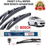Harga Wiper Mobil Bosch Advantage New Avanza Avanza Veloz 2Nd Gen 2 Pcs Original